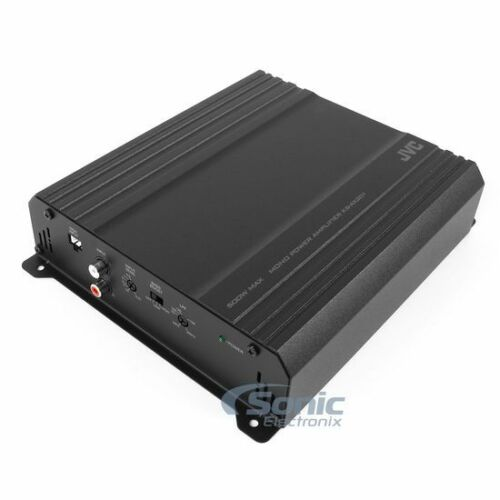 JVC KS-AX201 250W RMS Monoblock Class AB AX2 Car Amplifier Subwoofer Bass Amp