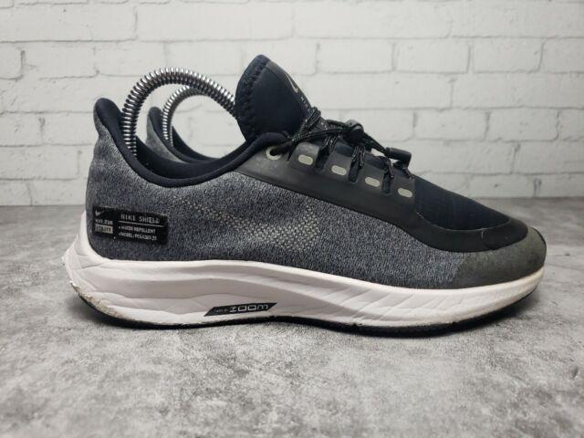 Nike AIR ZOOM PEGASUS 35 SHIELD GS Big Kids Shoes (AQ8779-001) Sz 2.5y