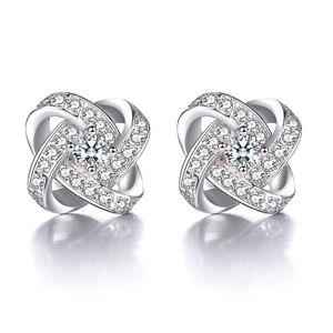 Solid-925-Sterling-Silver-Natural-Zircon-Eternal-Star-Ear-Stud-Earrings