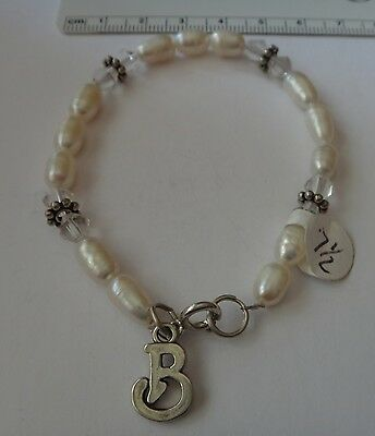 Sterling Silver 7 4.5mm Charm Bracelet With Attached Lucky Casino Sign Charm With Crystals