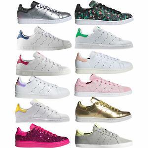 Adidas Originals Stan Smith Sneaker da Donna Scarpe Ginnastica Casual Basse