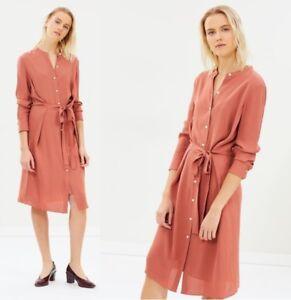 ba28258b612 Theory Effortless Tunic / Shirt Dress 44