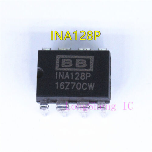1pcs INA128P DIP-8 Instrumentation Amplifiers Precision Low Power new