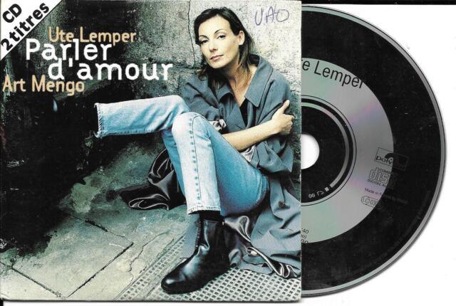 CD CARTONNE CARDSLEEVE UTE LEMPER ET ART MENGO 2T PARLER D'AMOUR DE 1993