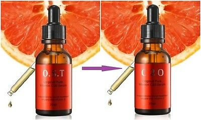 New(change brand) OST-->C20 original pure vitamin c20 serum 30ml Blackheeds 1pcs