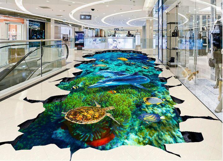3D Bel Mer 05 Fond d'écran étage Peint en en en Autocollant Murale Plafond Chambre Art | Sortie  89cee2