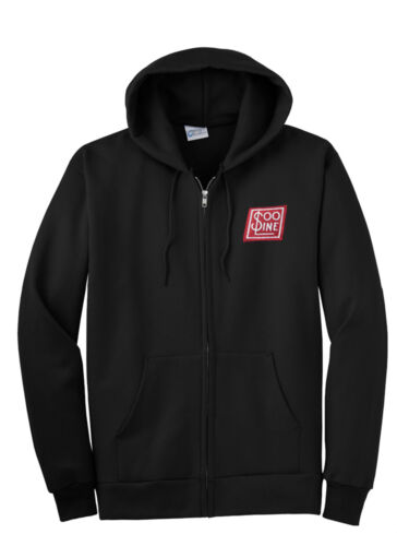 Soo Line Railroad Zippered Hoodie Sweatshirt 38