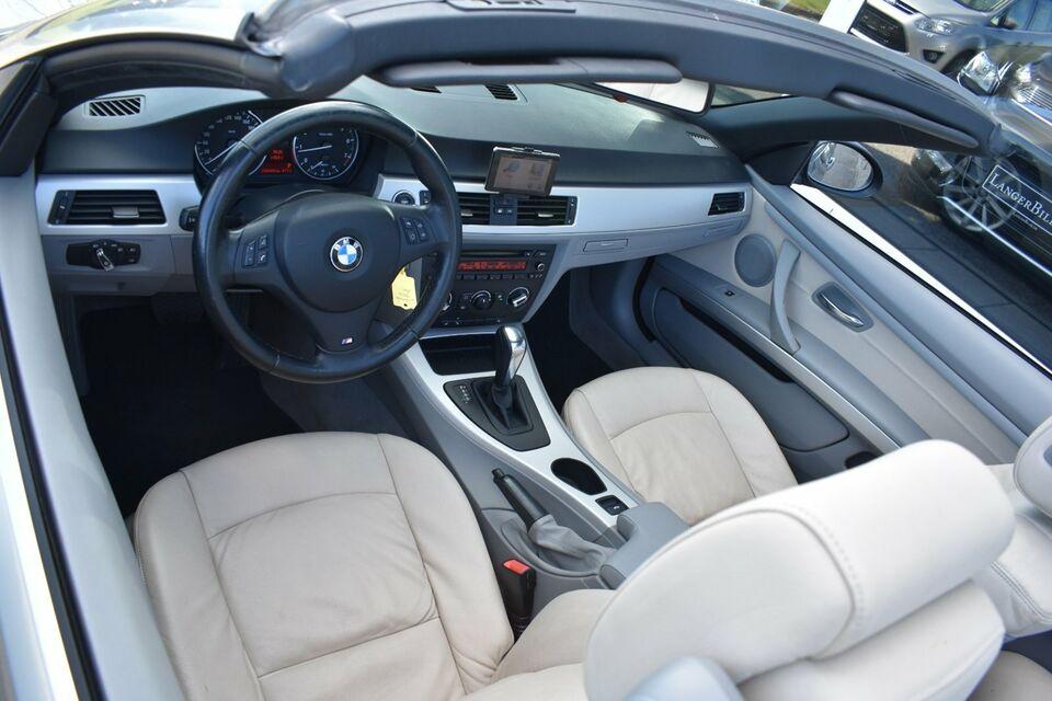 BMW 320i 2,0 Cabriolet Steptr. Benzin aut. modelår 2009 km