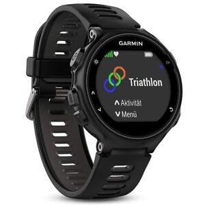GARMIN Forerunner 735XT GPS Sport Heart Rate Monitor Watch (black/grey) NEW