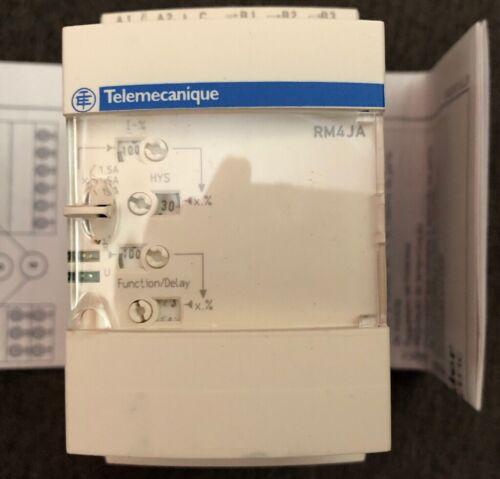 24-240V New Telemecanique RM4 JA32MW Current Measurement Relay 3A-15A