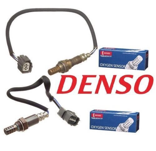 Pair Set of Front Upper /& Rear Lower Oxygen Sensors Denso For Accord 3.0 CL TL
