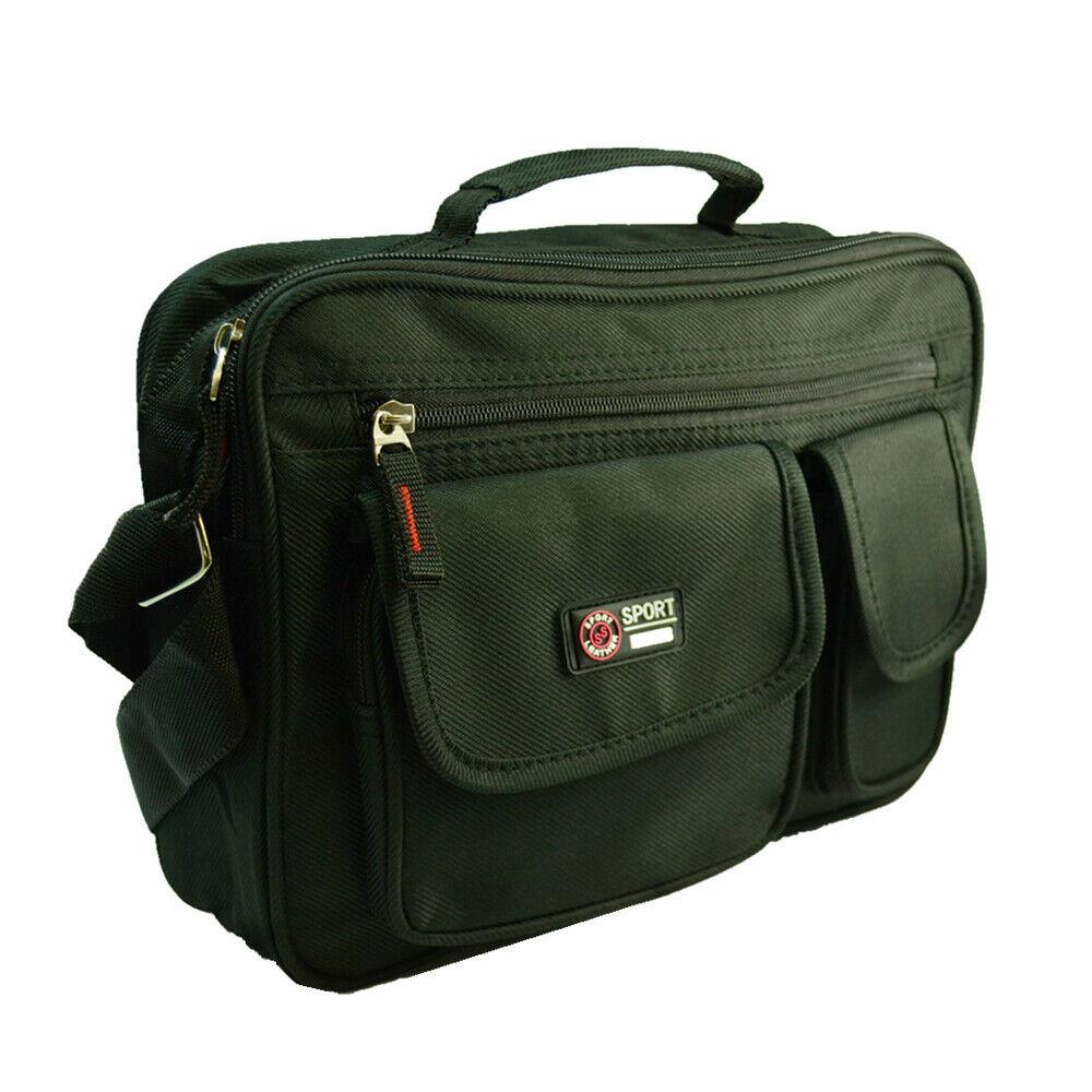 Waterproof Business Crossbody Briefcase Messenger Black Shoulder Satchel Bag