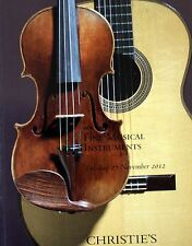 CHRISTIES FINE MUSICAL INSTRUMENTS VIOLINS & GUITARS NEW YORK 2588