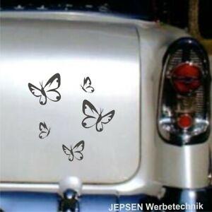 5-Aufkleber-Schmetterlinge-im-Set-S112-fuer-Auto-Moped-Waende-Schraenke-Moebel-usw