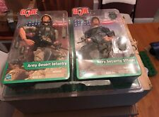Gi Joe 2 Pack Army Desert Infantry & Navy Security Officer 12 in Figures