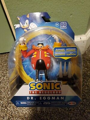 New Articulated Eggman Robotnik Sonic Hedgehog Jakks Pacific Action Figure Movie 192995403864 Ebay