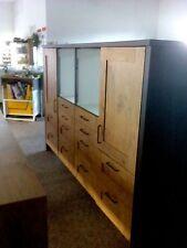 Küchenzeile Zeile B=240cm  Impuls IP6120 Vintage-Eiche Nb  12 Auszüge