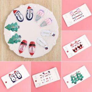 Gift-Santa-Claus-Girls-Hairpins-Mermaid-BB-Hair-Clips-Children-Headwear