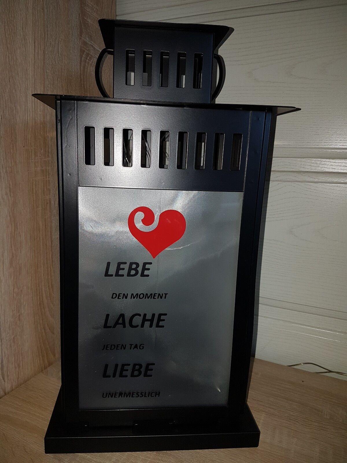 Led laterne weiß , Geschenk,  Dekoration , Deko 44 cm  | Auf Verkauf