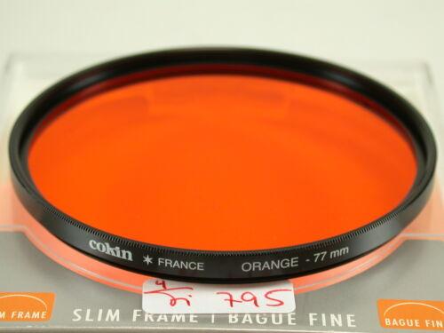 Original filtro cokin foto photo lens Orange naranja 77mm 77 e77 fi795//5