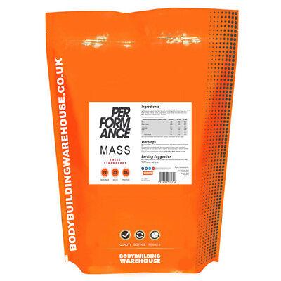 Performance Mass V2 1kg 2kg 4kg 6kg Heavy Weight Gainer Protein Powder Free P&P