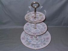 Minton Vanessa Bone China 3-Tier Hostess Cake Plate Stand (V1)  S.678