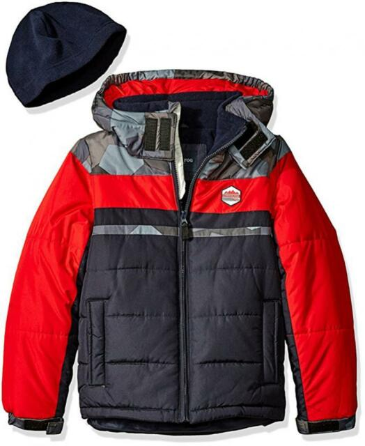 56354f448 London Fog Baby Classic Heavyweight Color Block Bubble Jacket With ...