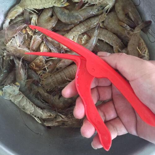 Portable Prawn Peeler Shrimp Deveiner Peel Device Creative Kitchen Tool A+++