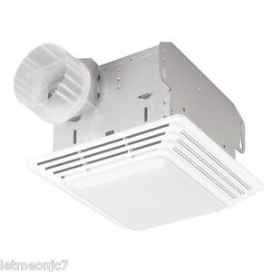 Image Is Loading Bathroom Vent Fan Light Combination Combo Exhaust Ceiling