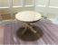 Dollhouse Miniature Kitchen Table Round Light , Scale Furniture tables