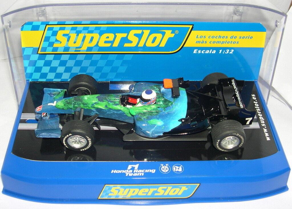 Superslot H2817 Honda F1 Racing  squadra  7 Jenson Button Scalextric UK MB  outlet online economico