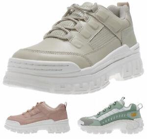 wholesale dealer 9c5d6 21595 Details about CATerpillar Damen Schuhe mit hoher Sohle - Plateau Sneaker  dicke Sohle NEU