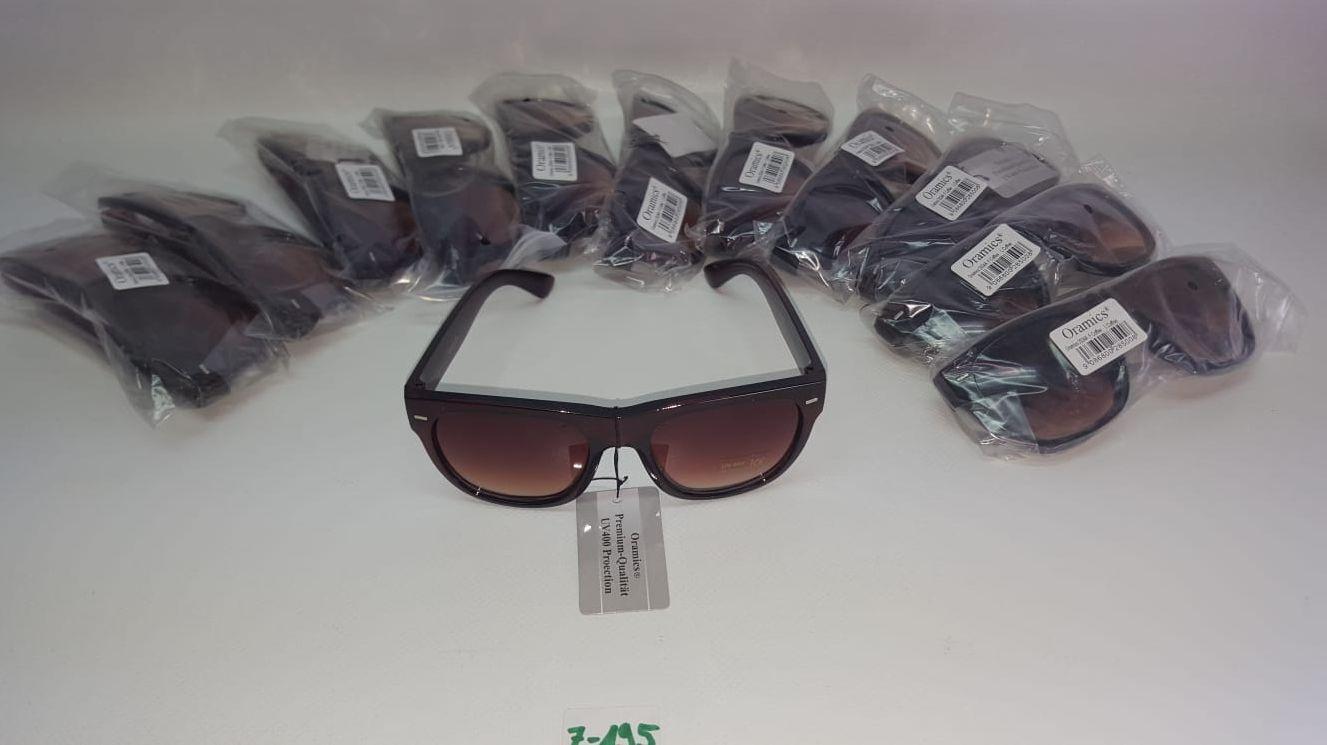 10 x Oramics Sonnenbrille schwarz UV 400 Protection Art. Nr. Z-195
