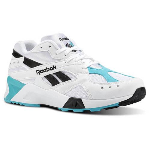 Reebok Hombre CN7067 aztrek Informal Zapatos Zapatillas blancoo verde Negro