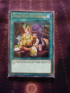 YuGioh Frightfur Patchwork NM DUPO-EN067 Ultra Rare Card 1st Ed.