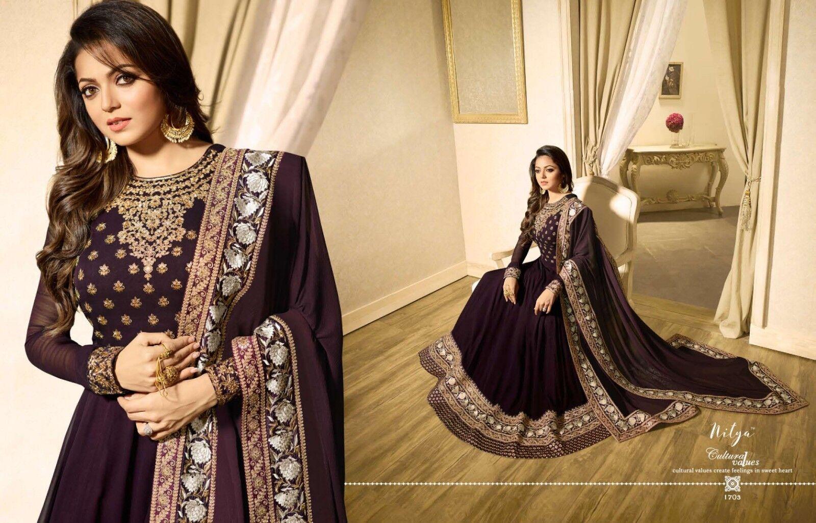 Bollywood Designer anarkali suits Fully Stitched LT Nitya 1703 Anarkali dress