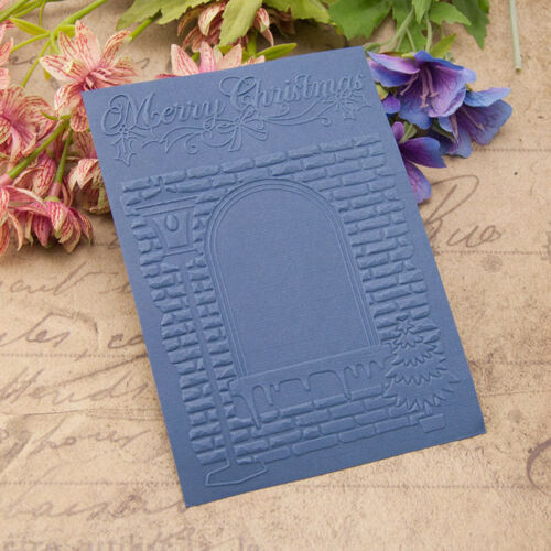 light Embossing folders Plastic Embossing Folder For Scrapbooking DIY card~PA