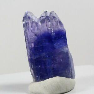 37.05ct Tanzanite Gem Crystal Zoisite Tanzania Blue Purple Merelani Per02