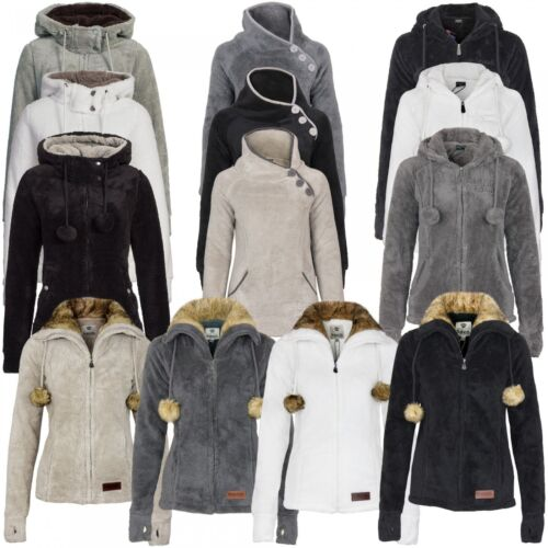Urban Flauschjacke amp; Caldo Punto Surface Teddy Donna Giacchetta Sublevel Pile wTYTIUq