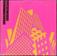 HOLLY JOHNSON - ATOMIC CITY - UK CARDBOARD SLEEVE CD MAXI