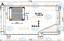 Kondensator-Klimaanlage-fuer-Klimaanlage-HELLA-8FC-351-301-344 Indexbild 2