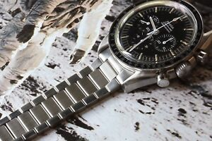 1960s-flat-link-watch-bracelet-for-new-or-vintage-Omega-Speedmaster-19mm-or-20mm