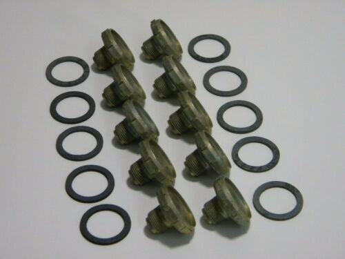 Holley QFT AED CCS 26-36 Power Valve Plug Holley Barry Grant Demon 10 Pack