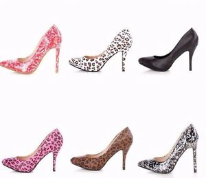 Animal-Print-Pointed-Toe-Platform-Pump-High-Heels-Stiletto-Patent-Faux-Leather