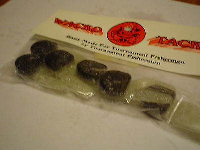 """MIDNIGHT OIL WACKO TACKLE SALTY JIG TAILS 2/"""" 6 CT."""