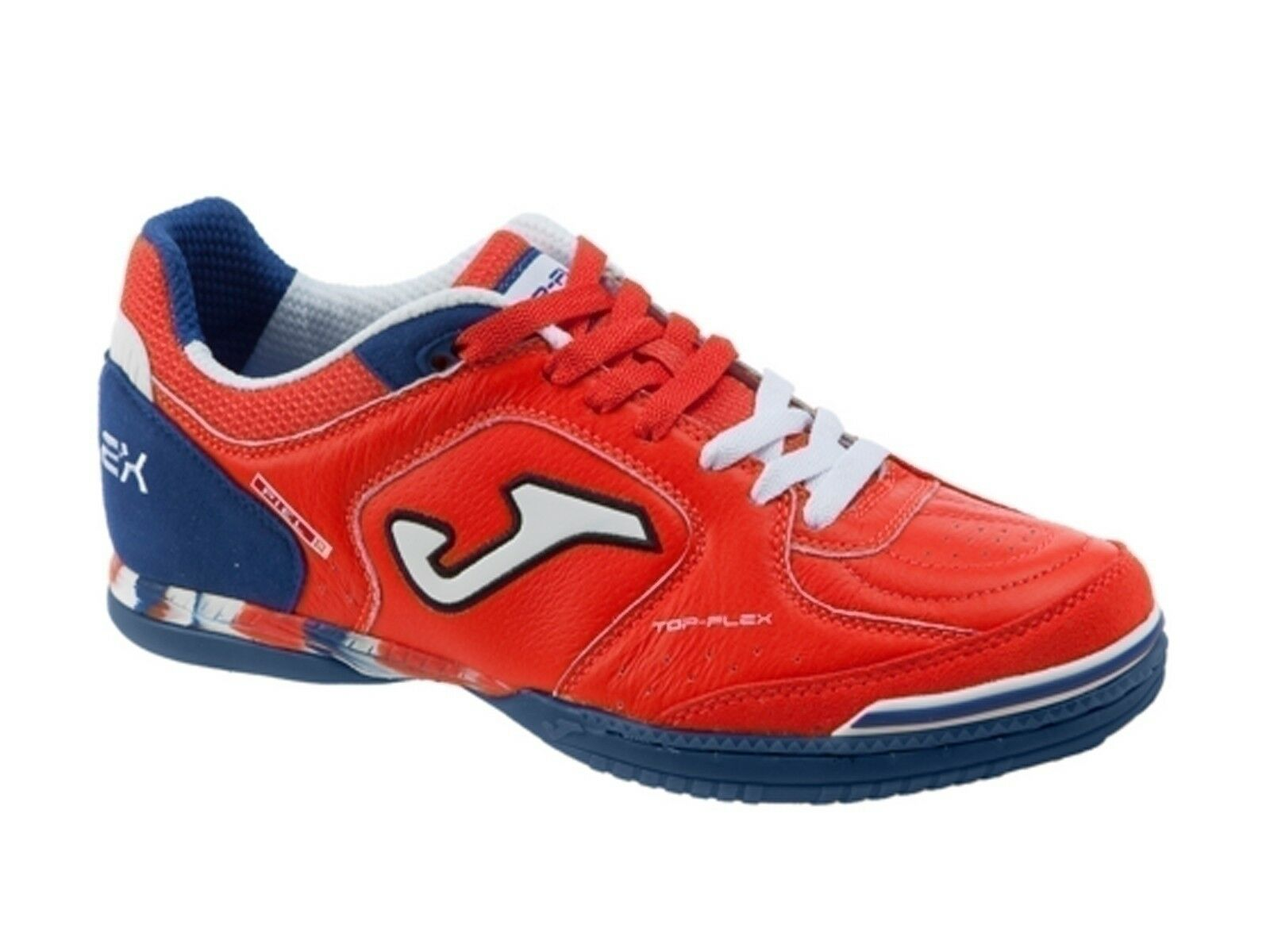 Zapatos hombres JOMA  TOPS 606 PS  TOP FLEX INDOOR rojo NAVY