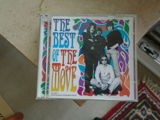 THE BEST OF THE MOVE          -sehr rar-