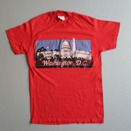 vintage 80s WASHINGTON DC CAPITOL Tourist Travel t