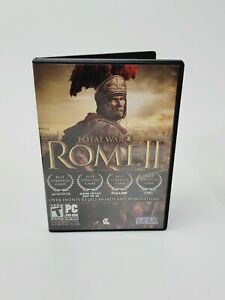 Total War: Rome II (PC Game DVD-ROM, 2013) Disc with Manual