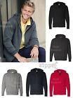 Independent Trading Co Mens Full-Zip Hooded Sweatshirt AFX4000Z S-3XL Hoodie